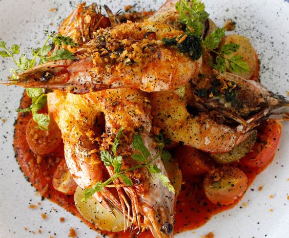 Grilled King Prawns_web