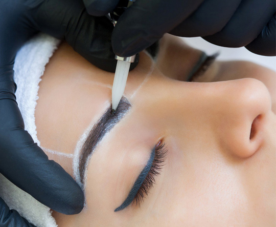Brows treatment